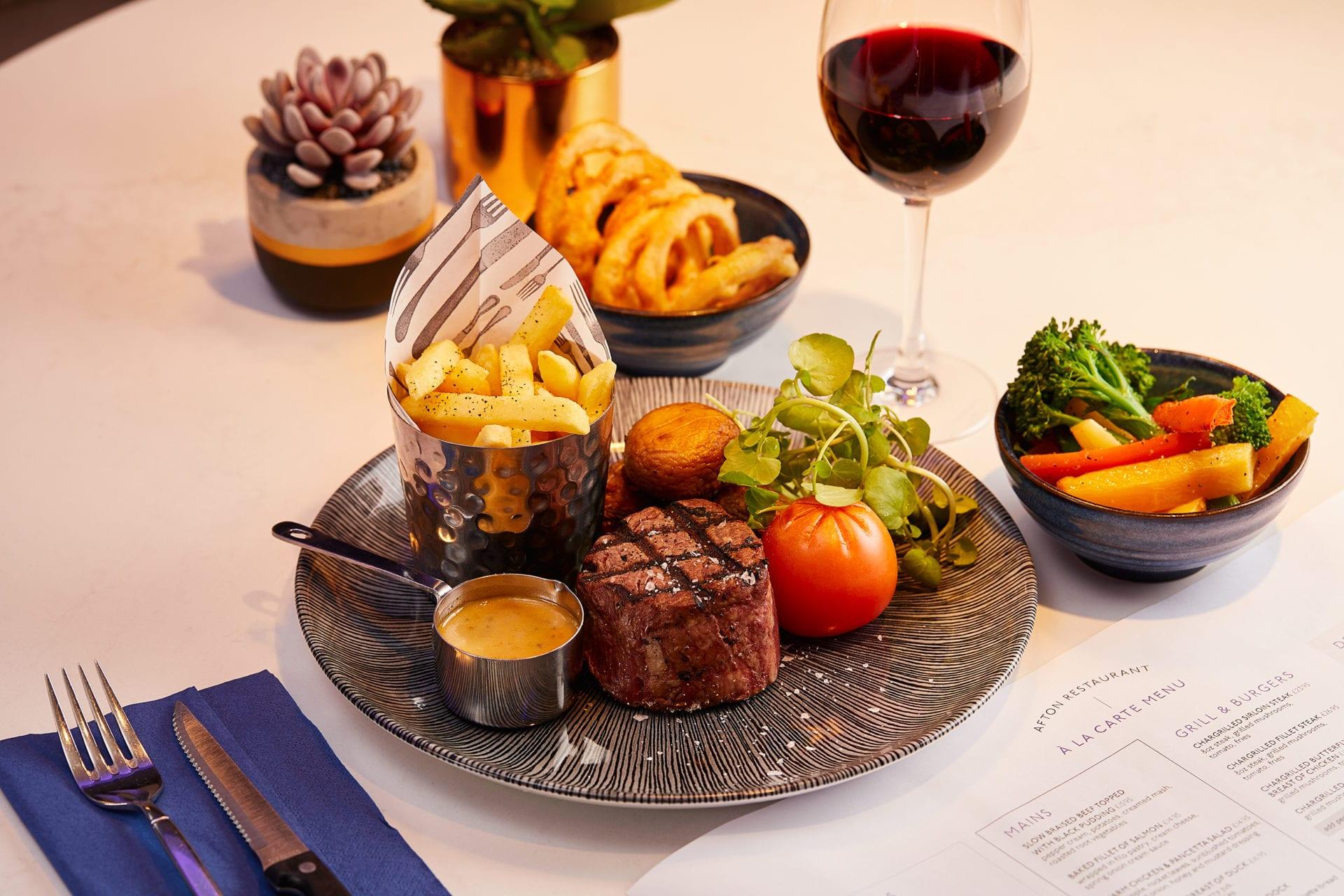Lochside House Hotel restaurant